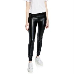 NWT Blanc Noir Faux Leather London Pant
